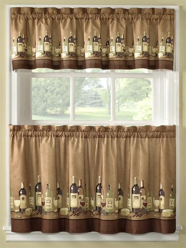 Wine themed kitchen curtains u2013 Kitchen ideas - wine themed kitchen ideas
