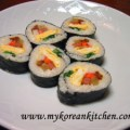 Vegetable Kimbap