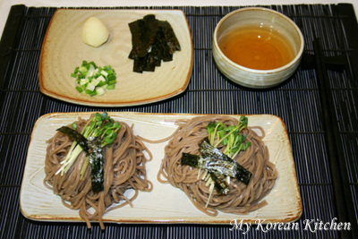 Buckwheat Noodles (Memil Guksu in Korean) 2