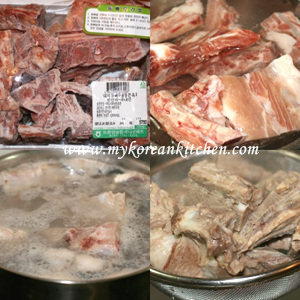 Pork Bone and Potato Soup (Gamjatang) 1