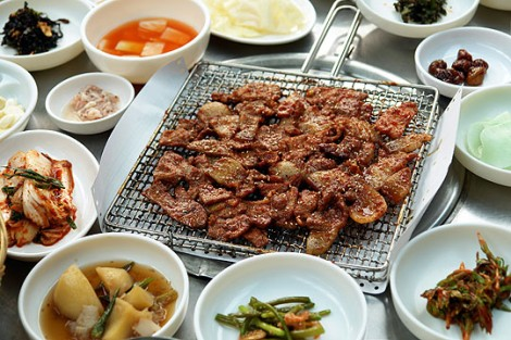 Grilled Spicy Pork