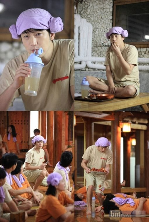 Queen of Reversal - Park Si Hoo at Korean Sauna
