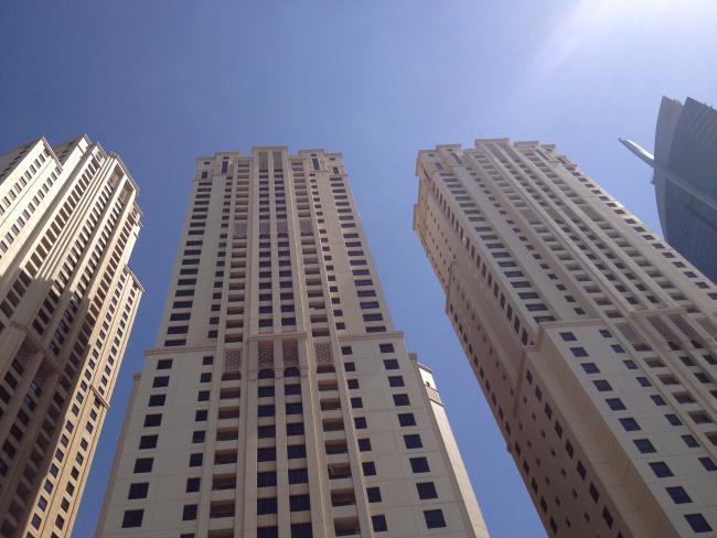 Ουρανοξύστες στο Dubai Marina