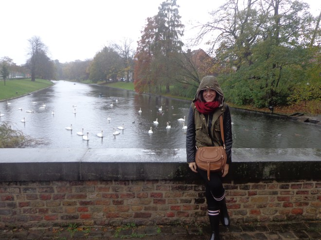 Brugge! Yes, it was a bit cold!