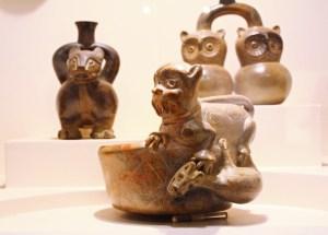 Im Museum Larco