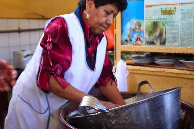 Doña Rosa, Markt Arequipa
