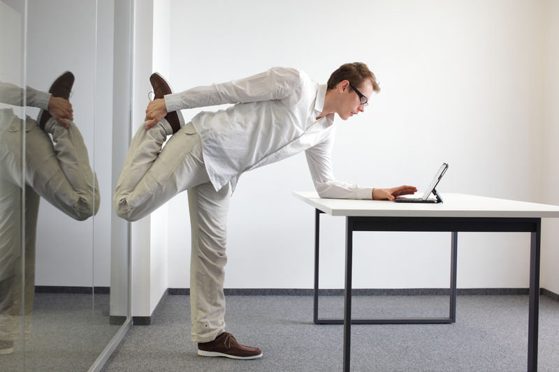 Office Workout - my Learning Solutions - office exercise