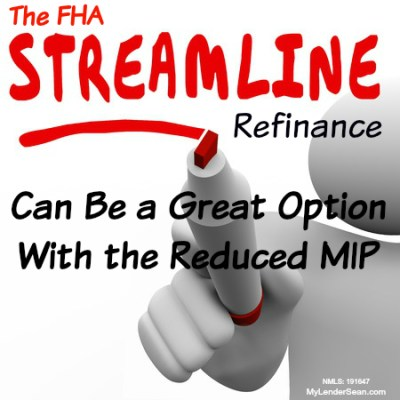 You should probably read this: Streamline Fha Refinance Pros And Cons