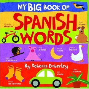 Learn spanish spanish childrens books spanish books libros en spanish baby board book my big book of spanish words fandeluxe Images