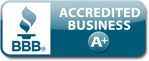 Better Business Bureau Accredited A+