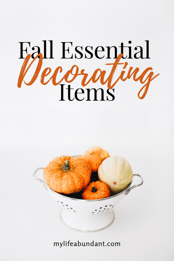 Just a few classic decorating essentials can change any home from summer to fall. The beautiful fall-inspired decor is the perfect way to celebrate the season.
