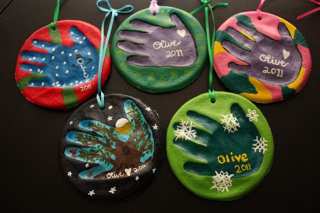 Handabdruck Kinder 35 Diy Ornaments To Make With Kids
