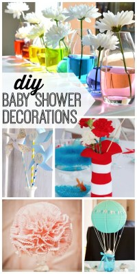 DIY Baby Shower Decorations - My Life and Kids