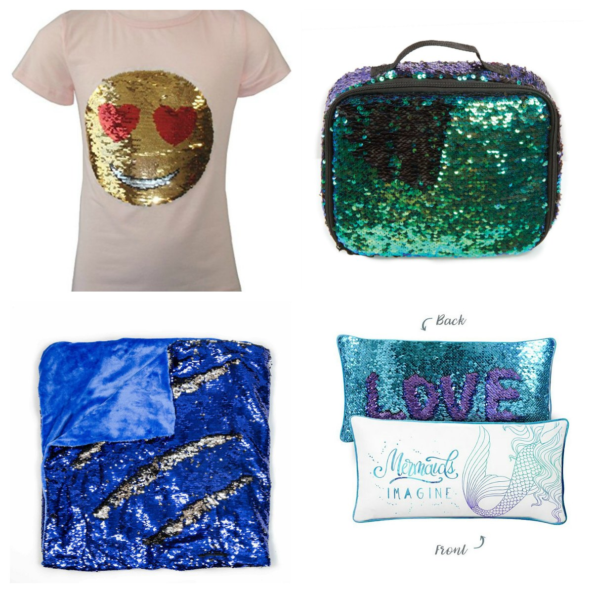 Mermaid Gift Ideas Mermaid Sequin Gift Ideas For Teens Tweens And Toddlers