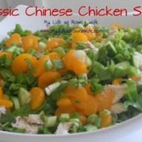 Classic Chinese Chicken Salad