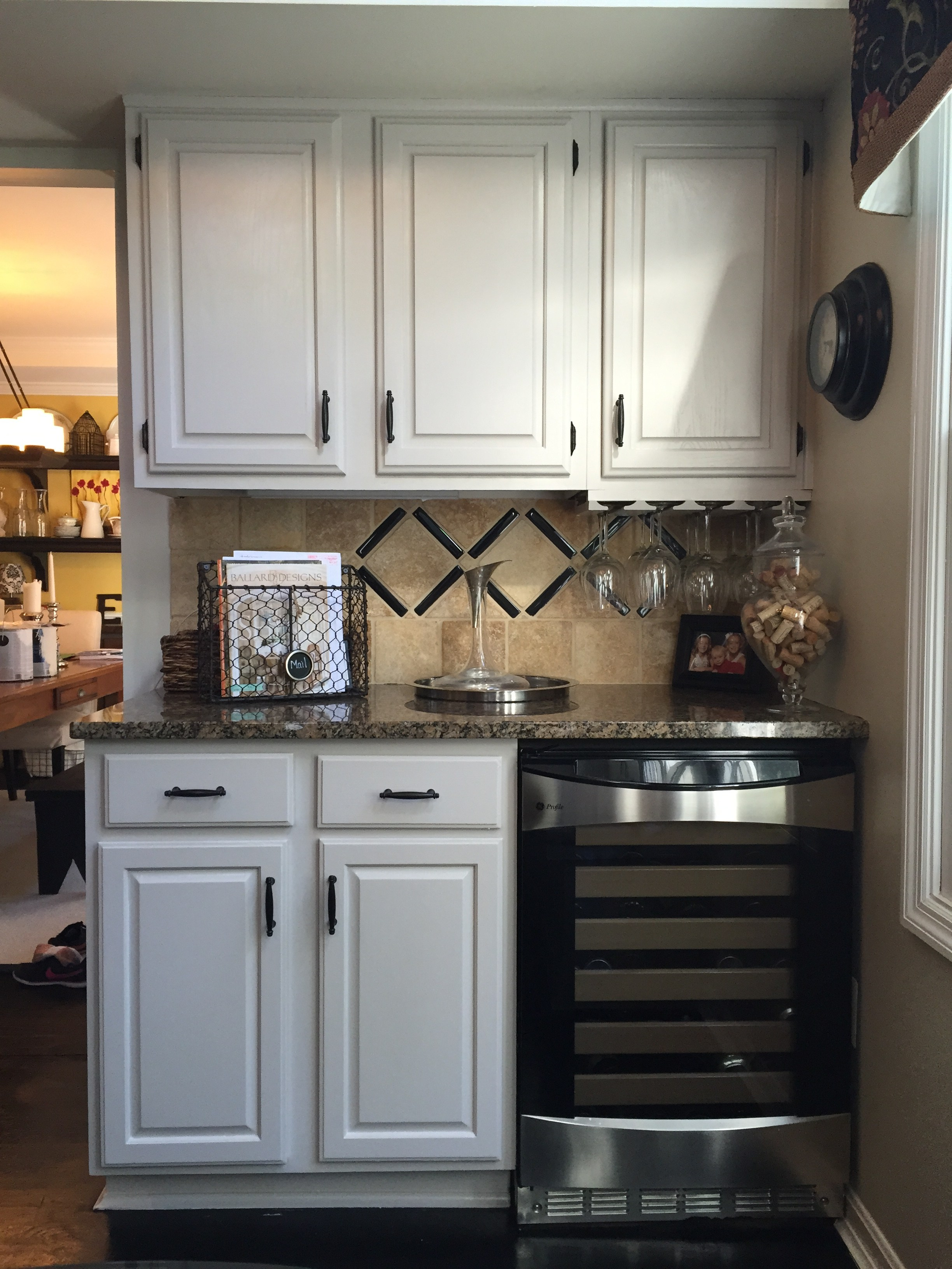 Diy How I Painted My Kitchen Cabinets White Cottage