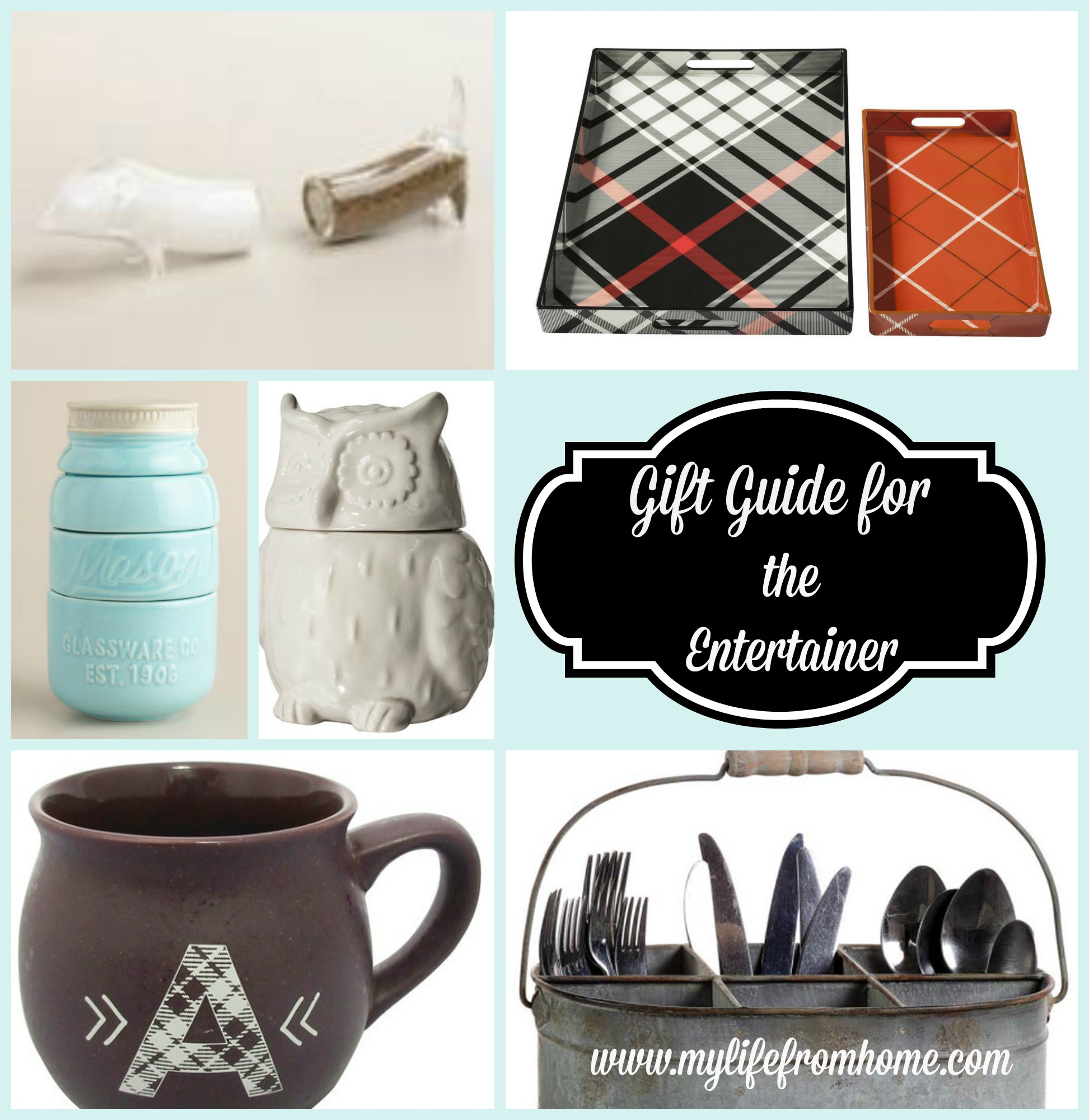 Gift Guide for the Entertainer by www.mylifefromhome.com