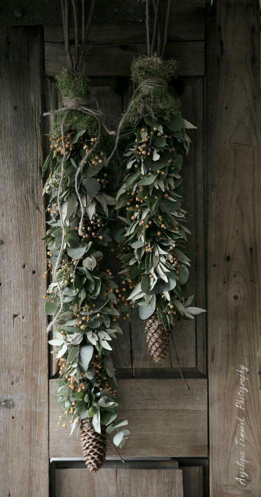 Natural Colors Ice 20 Creative Alternatives To A Front Door Wreath For Fall