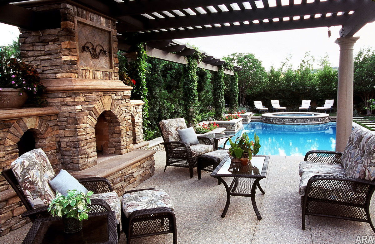 Fireplace And Patio Five Top Trends In Patio Designs
