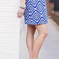 Style the Bump: Blue & White