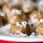 Almond Butter Protein Balls
