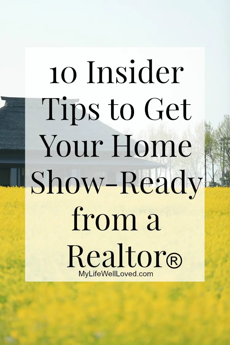 10 Tips for Showing your Home