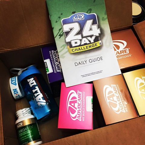 Advocare 24-Day Challenge {Day 1} - MyLitter - One Deal At A Time - 24 day challenge guide