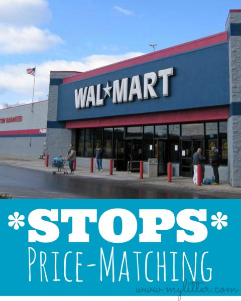 Walmart Stops Price Matching - MyLitter - One Deal At A Time