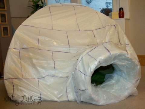 How To Make Igloo Mother Day Craft Ideas For Nursery