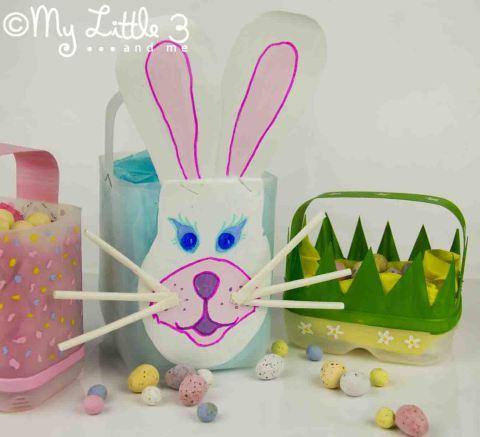Easter Bunny Basket Free Easter Crafts To Make