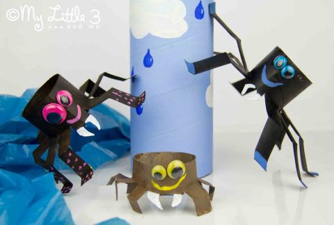 Incy Wincy Spider Mother Day Craft Activities For Early Years