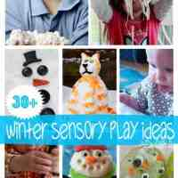30+ Sensory Play Ideas for the Winter Holidays plus $2000 Giveaway