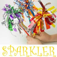 Sparkler Firework Craft For Kids