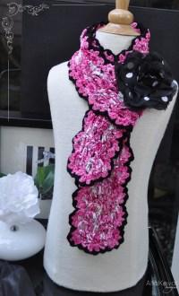 COOL CROCHET SCARF PATTERNS  Crochet Patterns