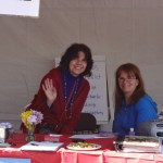Boston Japan Festival 2013 - Maxine & Katie Behind the booth