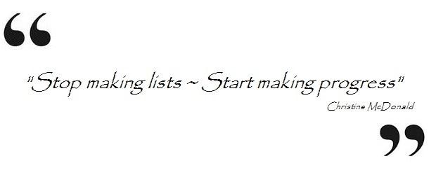 Lists-and-progress