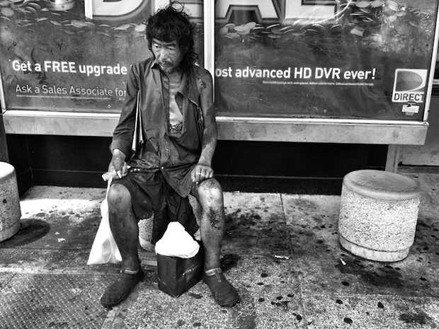 "Photo courtesy of Diana Kim, ""The Homeless Paradise."""
