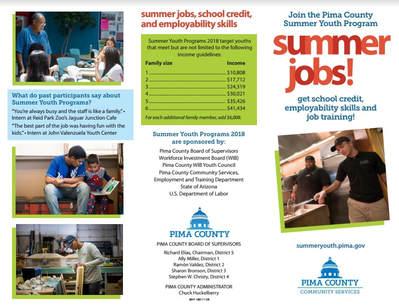 Deadline Extended for Summer Youth Work Program - Arizona News