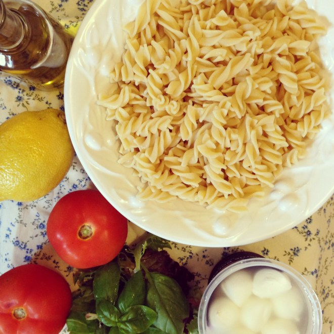 ten minute pasta salad