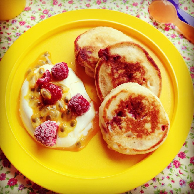 raspberry pikelets