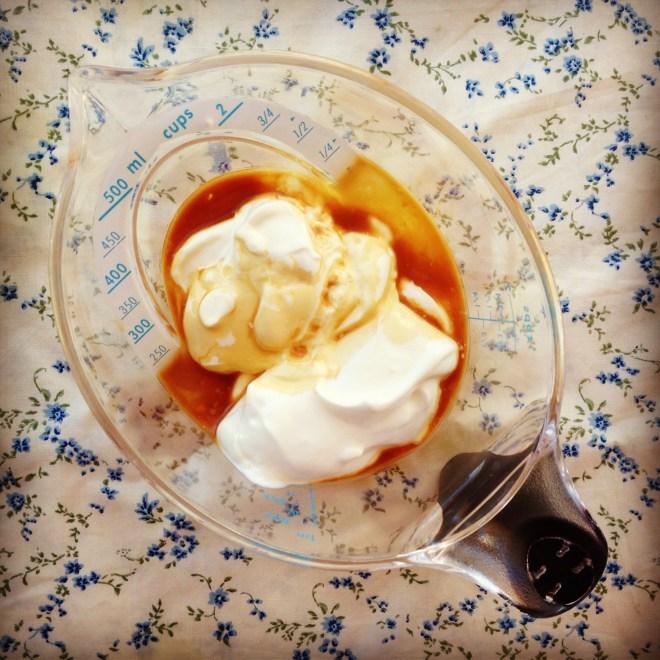 pear & cinnamon pikelets