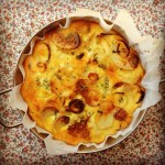 potato, onion & cheese frittata