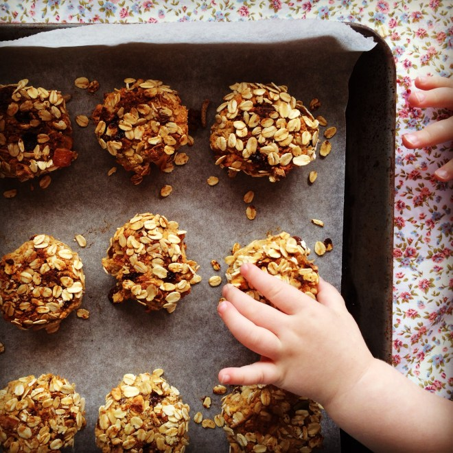 wholesome apple & cinnamon breakfast cookies