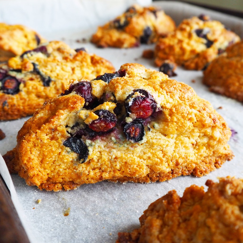 the very best blueberry scones. ever.