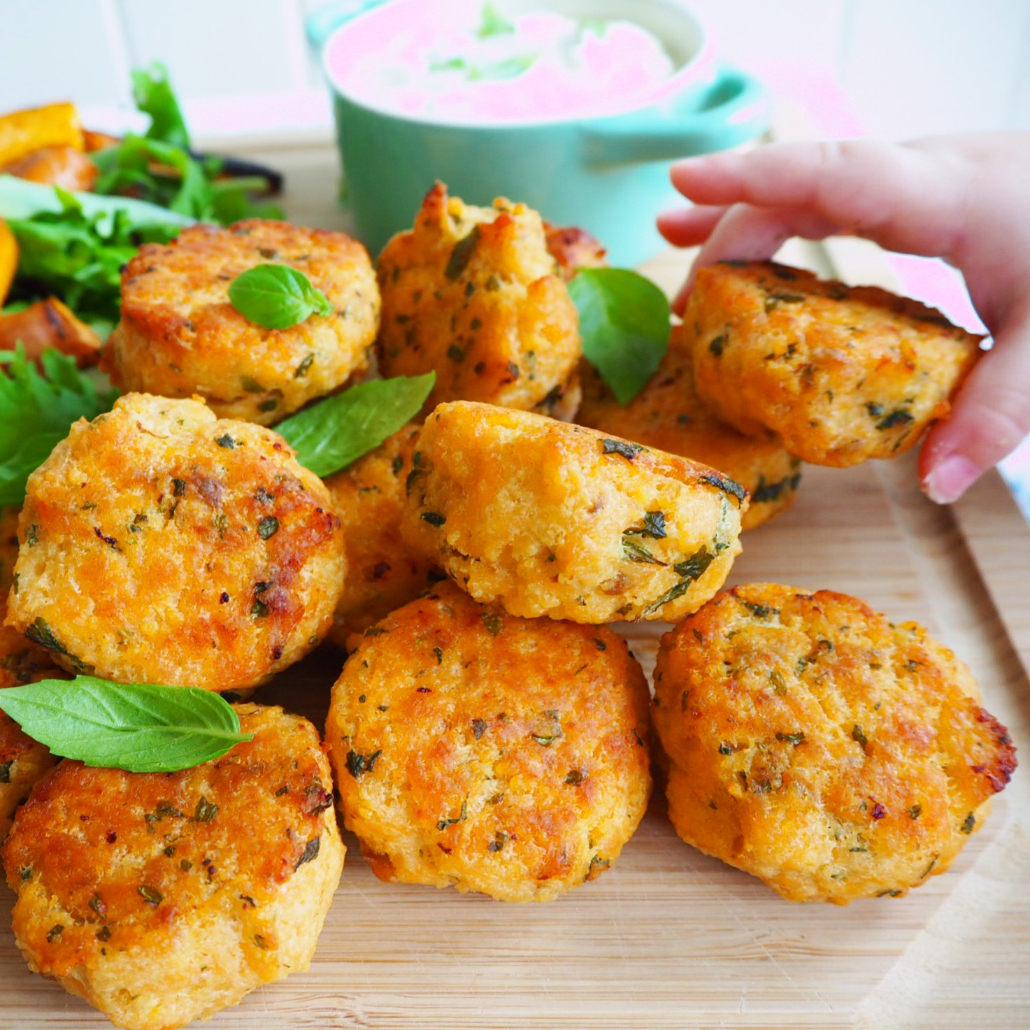Baby Sweet Potato Cakes Recipe — Dishmaps