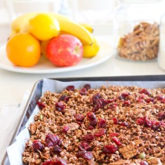 chocolatey granola