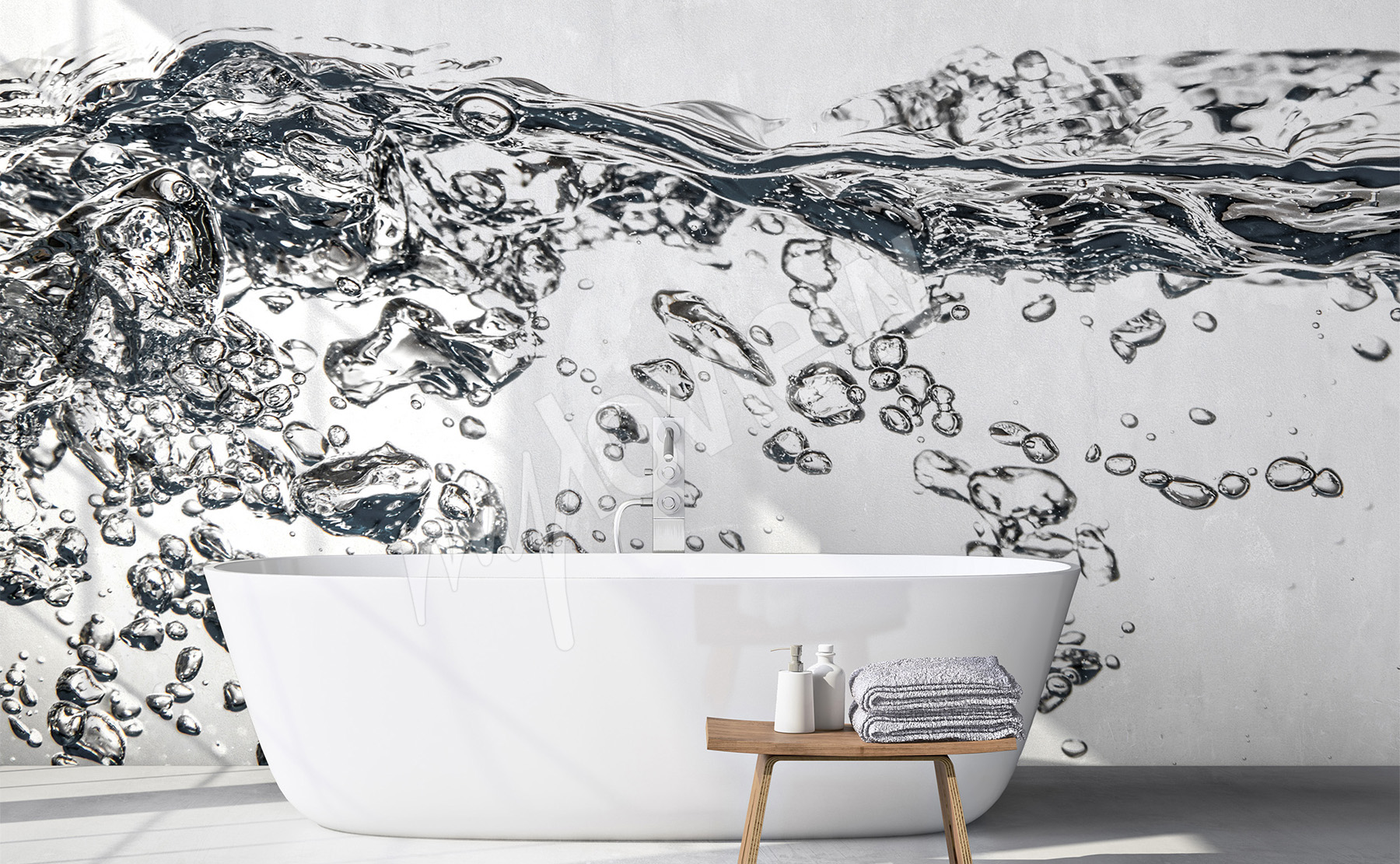 Wallpaper Murals For Bathrooms Murals Bathroom To Size Of Wall Myloview