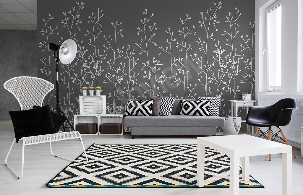 Papier Peint Noir Et Blanc Design | Papier Peint Noir Et Blanc ...