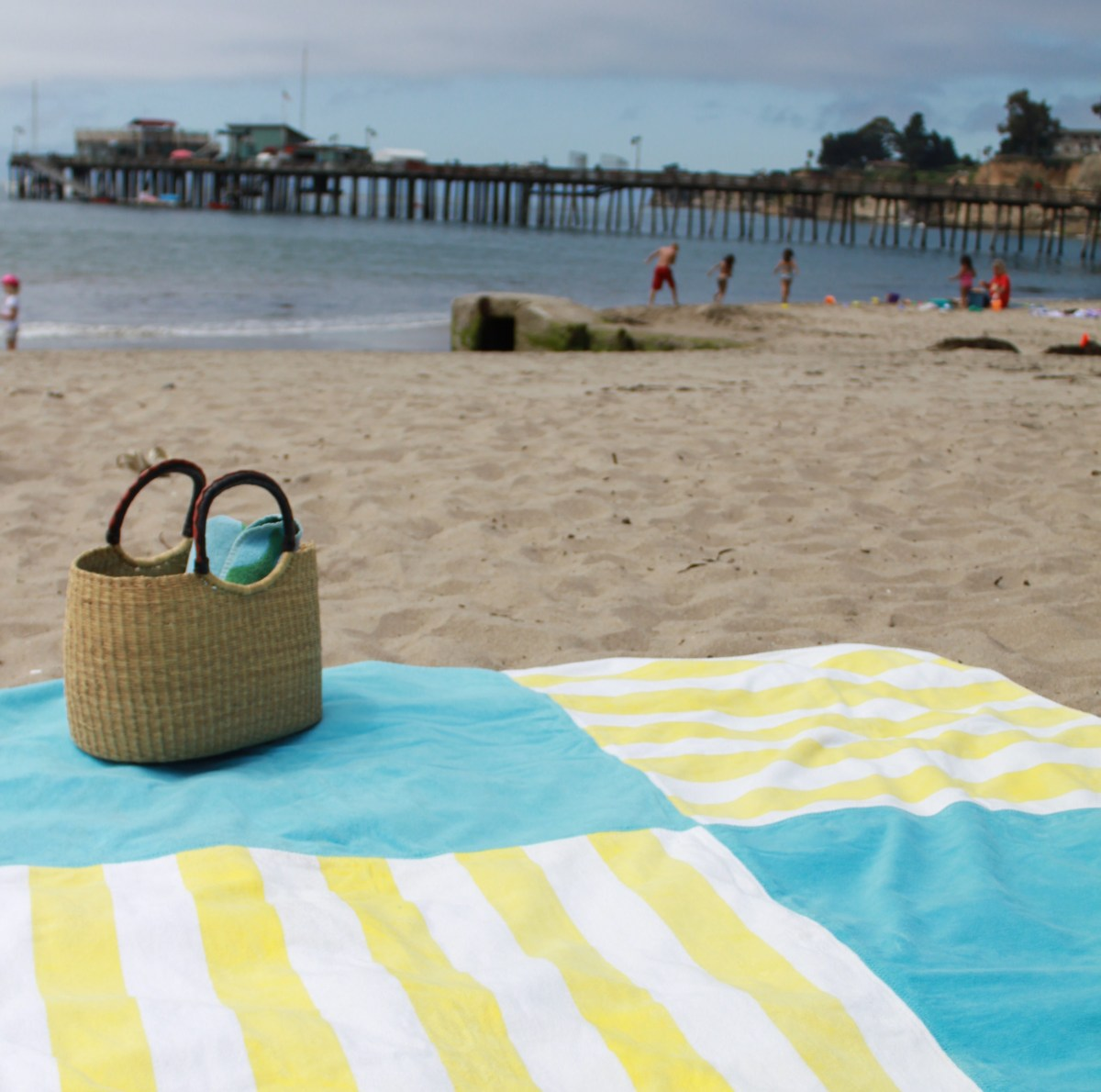 Big W Round Towel Bountiful Beach Blankets My Material Life