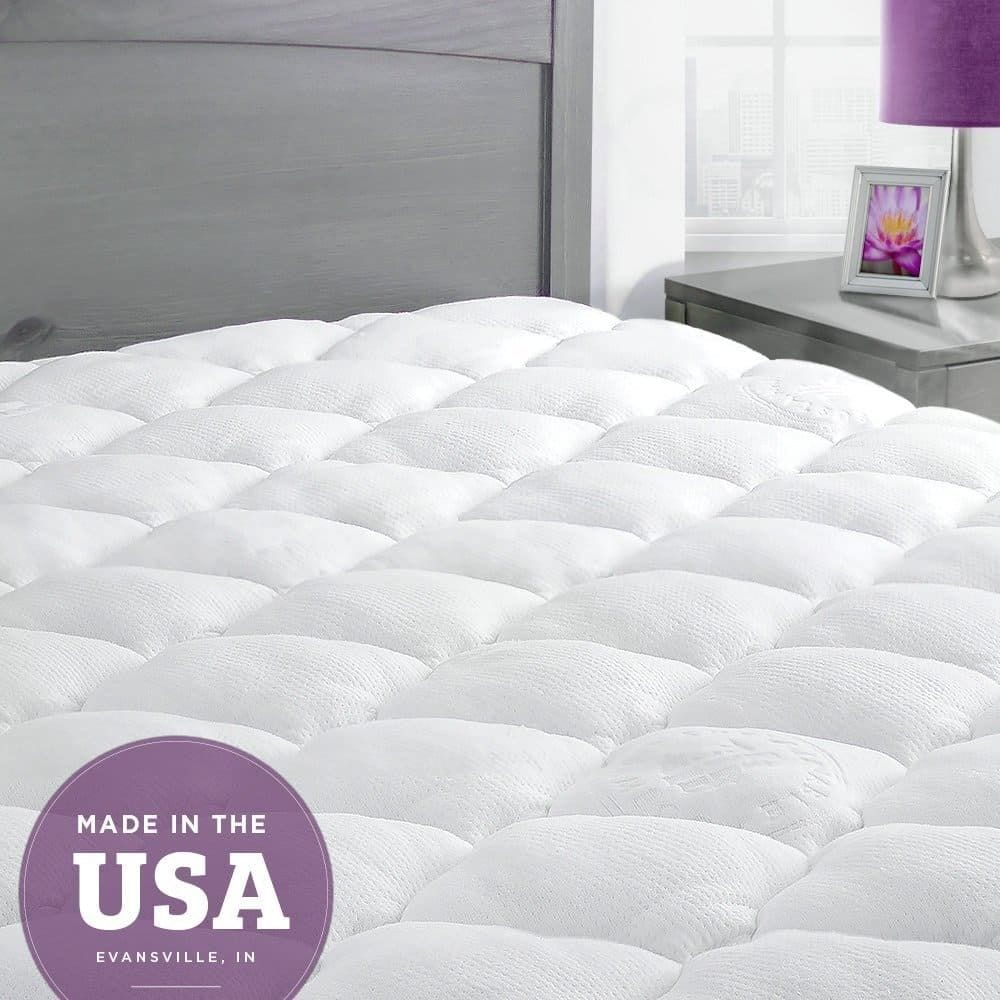 5 Inch Mattress Topper 3 Best Feathertop Mattress Pads Available On Amazon